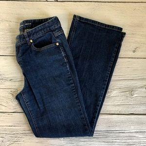 "Liz Claiborne ""Jackie"" Blue Jeans Size 8"